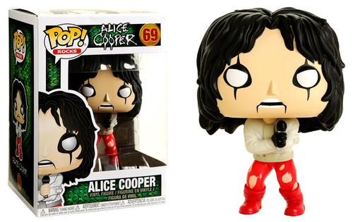 Funko POP! Rocks Alice Cooper Exclusive Vinyl Figure #69 [Straightjacket]