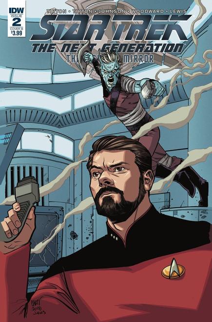 IDW Star Trek The Next Generation #2 Through the Mirror Comic Book [Cover B]
