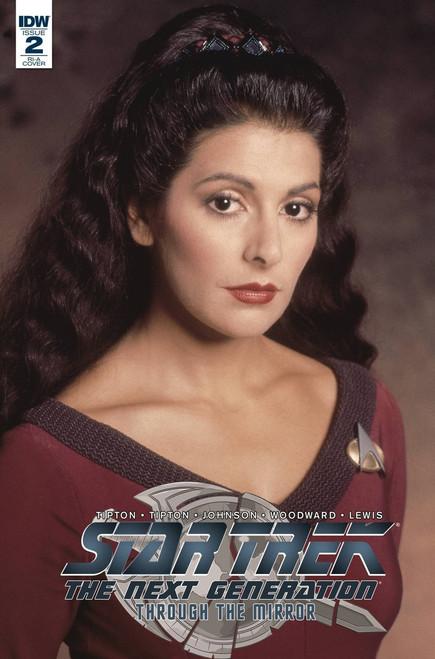 IDW Star Trek The Next Generation #2 Through the Mirror Comic Book [Cover RI-A]