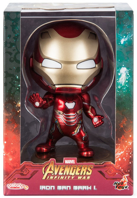 Marvel Avengers Infinity War Cosbaby Iron Man Mark L 4-Inch Bobble Head