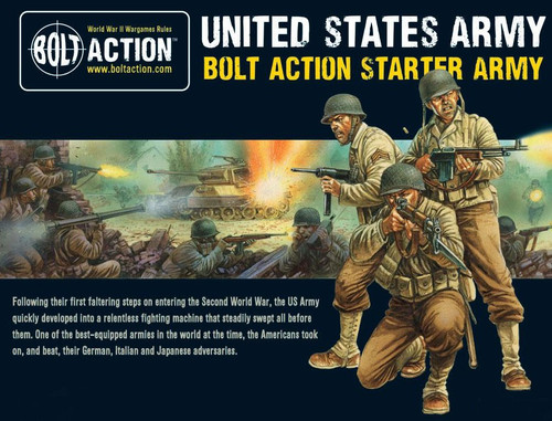 Bolt Action WWII Wargame Allies US Army Starter Army Miniatures