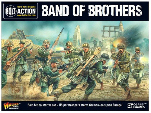 Bolt Action WWII Wargame Band of Brothers Starter Set