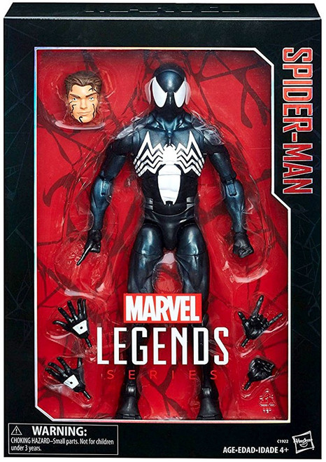 Marvel Legends Symbiote Spider-Man Exclusive Deluxe Collector Action Figure [Damaged Package]
