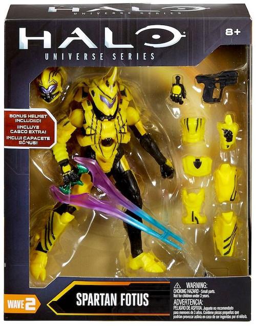 Halo Universe Series Wave 2 Spartan Fotus Action Figure