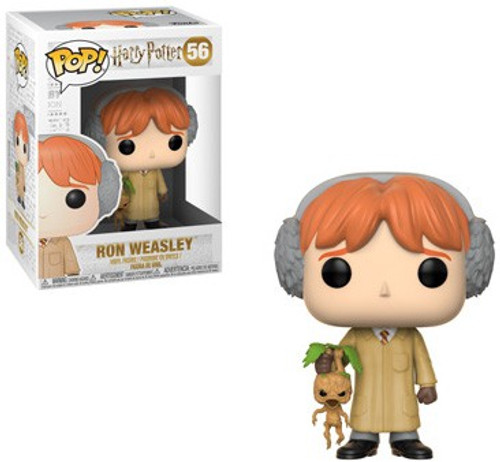 Funko Harry Potter POP! Movies Ron Weasley Vinyl Figure #56 [Herbology]