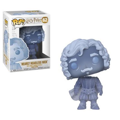 Funko Harry Potter POP! Movies Nearly Headless Nick Vinyl Figure #62 [Blue Translucent]