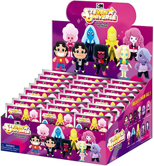 3D Figural Keychain Steven Universe Mystery Box [24 Packs]