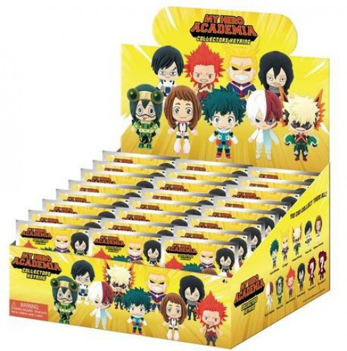 3D Figural Keyring My Hero Academia Series 1 Mystery Box [24 Packs]