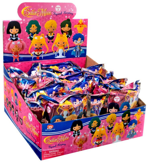 3D Figural Keyring Sailor Moon Series 2 Mystery Box [24 Packs]