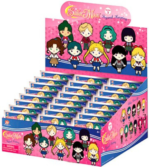 3D Figural Keyring Sailor Moon Series 3 Mystery Box [24 Packs]