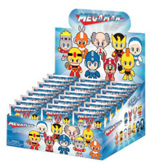 3D Figural Keyring Mega Man Mystery Box [24 packs]