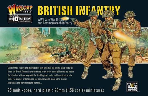 Bolt Action WWII Wargame Allies British Infantry Miniatures