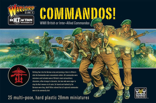 Bolt Action WWII Wargame Allies Commandos! Miniatures [WWII British or Inter-Allied Commandos]
