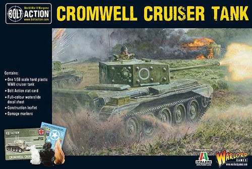 Bolt Action WWII Wargame Allies Cromwell Cruiser Tank Miniatures