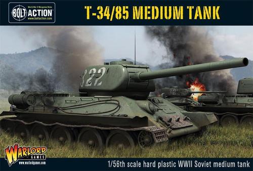 Bolt Action WWII Wargame Allies T-34/85 Medium Tank Miniatures