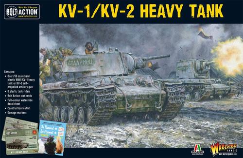 Bolt Action WWII Wargame Allies KV-1/KV-2 Heavy Tank Miniatures