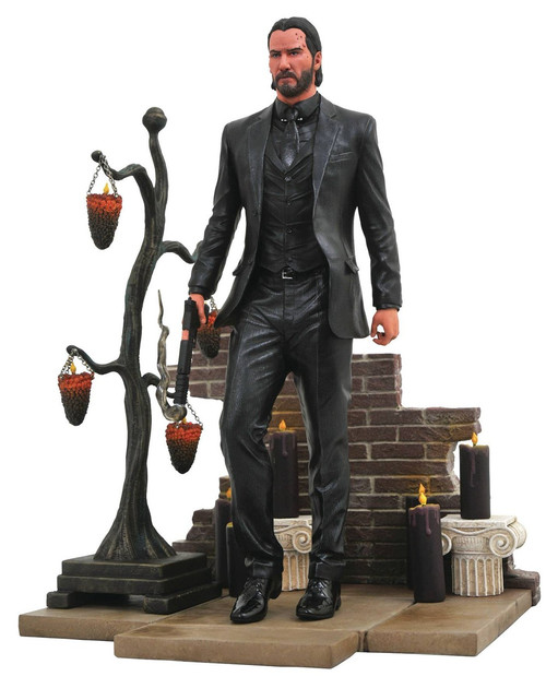 John Wick Chapter 2 Movie Gallery John Wick 9-Inch PVC Figure Statue [Standing]