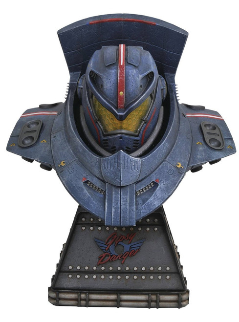 Pacific Rim Gypsy Danger 10-Inch Mini Bust [Limited Edition]