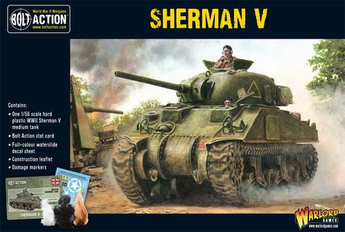 Bolt Action WWII Wargame Allies Sherman V Miniatures