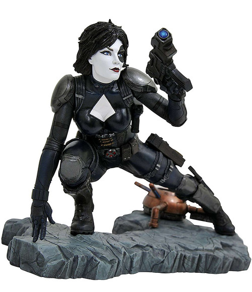 Marvel Premier Collection Domino 12-Inch Collectible Resin Statue [Comic Version]