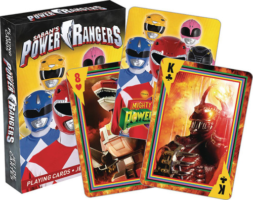 Mighty Morphin' Power Rangers Playing Card Deck