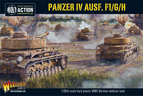 Bolt Action WWII Wargame Axis Panzer IV Ausf. F1/G/H Miniatures