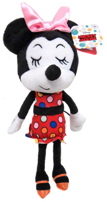 Disney Summer Minnie Mouse Exclusive 9-Inch Plush [Eyes Closed]