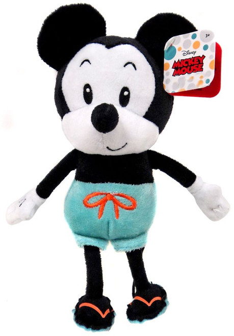 Disney Summer Mickey Mouse Exclusive 9-Inch Plush