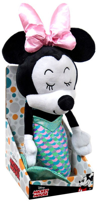 Disney Summer Minnie Mouse Exclusive 17-Inch Plush [Mermaid]