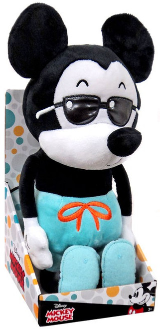 Disney Summer Mickey Mouse Exclusive 17-Inch Plush [Sunglasses]