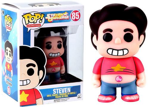 Funko Steven Universe POP! Animation Steven Exclusive Vinyl Figure #85 [Glows-in-the-Dark, Damaged Package]