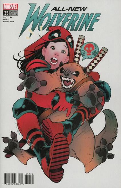 Marvel Comics All-New Wolverine #35 Comic Book [Torque Deadpool Variant]