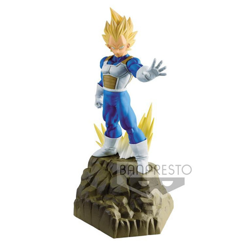Dragon Ball Z Absolute Perfection Vegeta 6.7-Inch Collectible PVC Figure