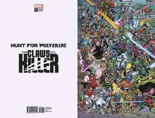 Marvel Comics Hunt for Wolverine #1 The Claws of a Killer Comic Book [Wheres Wolverine Variant]