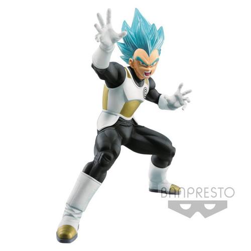 Dragon Ball Super Heroes Transcendence Art Super Saiyan Blue Vegeta 6.3-Inch Collectible PVC Figure Vol. 2