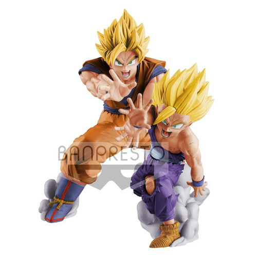 Dragon Ball Super Vs Existence Super Siayan Son Goku & Son Gohan 6.3-Inch Collectible PVC Figure