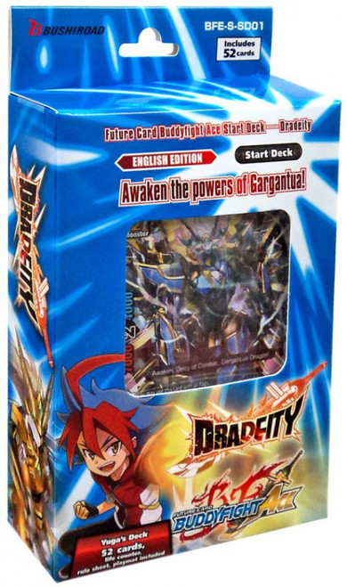 Future Card BuddyFight Trading Card Game Ace Dradeity Starter Deck BFE-S-SD01 [Vol.1]