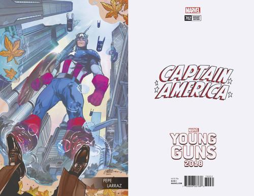 Marvel Comics Captain America #702 Comic Book [Larraz Young Guns Variant]