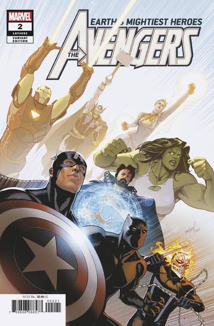 Marvel Comics Avengers #2 Comic Book [Marquez Variant]