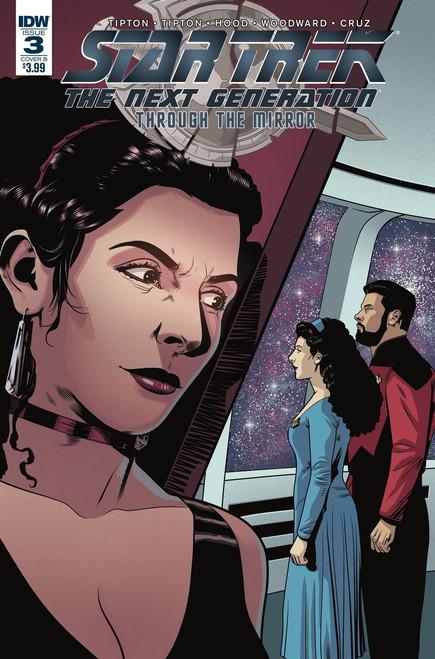 IDW Star Trek The Next Generation #3 Through the Mirror Comic Book [Cover B]