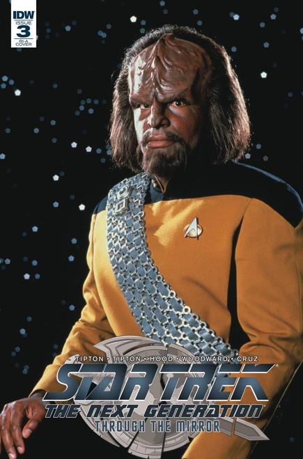 IDW Star Trek The Next Generation #3 Through the Mirror Comic Book [Cover RI-A]