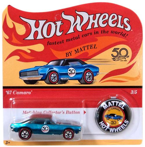 Hot Wheels 50th Anniversary '67 Camaro Die-Cast Car