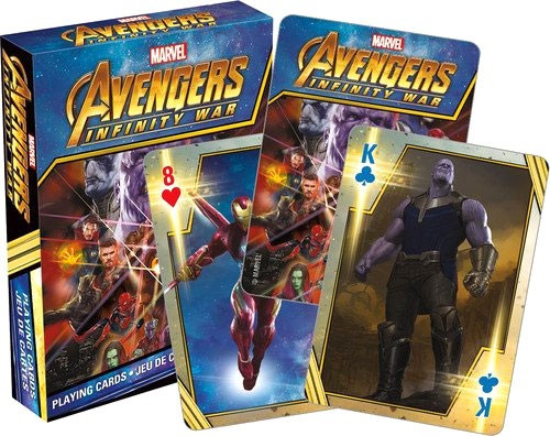 Marvel Avengers Infinity War Playing Card Deck