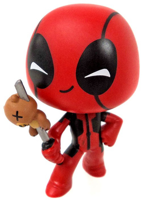 Funko Marvel Deadpool Fencer 1/72 Mystery Minifigure [with Bear Loose]