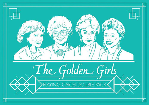 The Golden Girls Playing Card Deck [Premium Set]