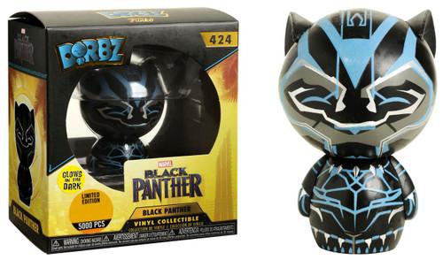 Funko Marvel Dorbz Black Panther Exclusive Vinyl Figure #424