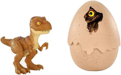 Jurassic World Fallen Kingdom Hatch 'N Play Dino Tyrannosaurus Rex Action Figure [Brown]