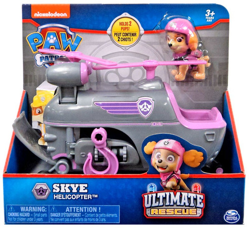 Paw Patrol Ultimate Rescue Skye Helicopter Vehicle & Figure