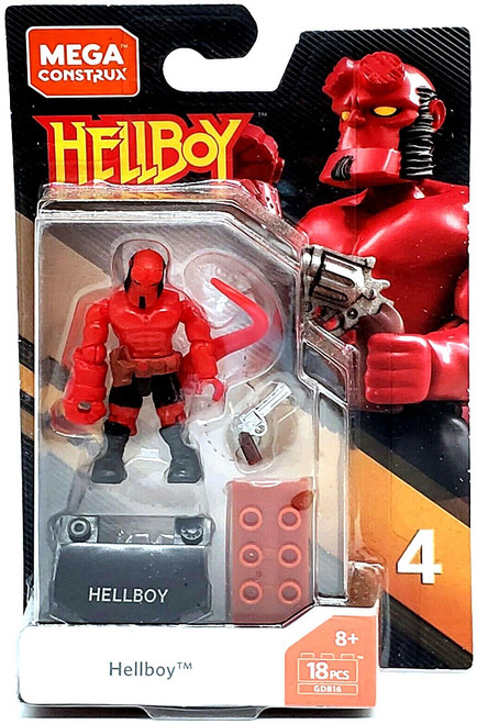 Heroes Series 4 Hellboy Mini Figure