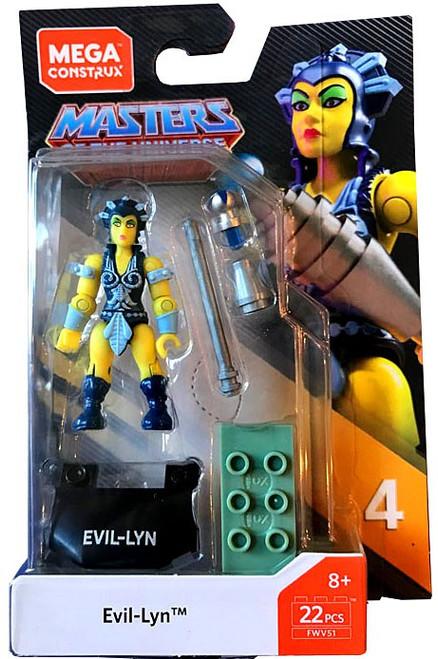 Mega Construx Masters of the Universe Heroes Series 4 Evil Lyn Mini Figure